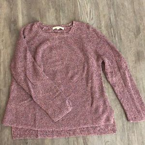 Loft marbled sweater size large